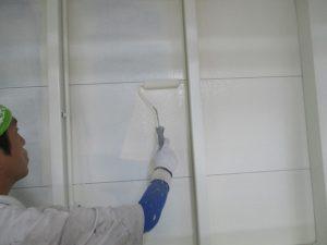 内壁の中塗り