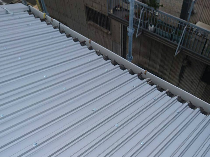金属屋根波型