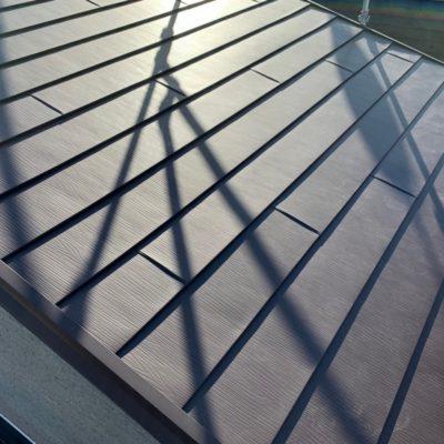 ガルバリウム銅板カバー工法