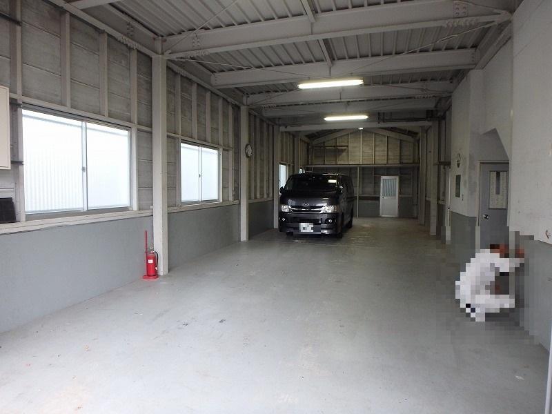 倉庫内塗装 施工前