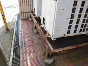 室外機架台 塗装前