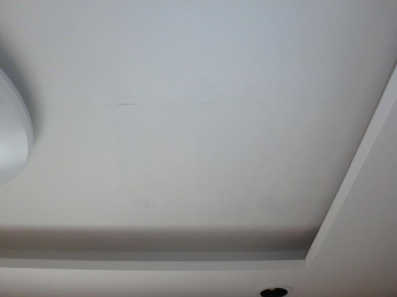 室内の天井(雨漏り箇所)