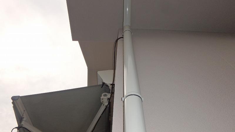 塗装後の雨樋
