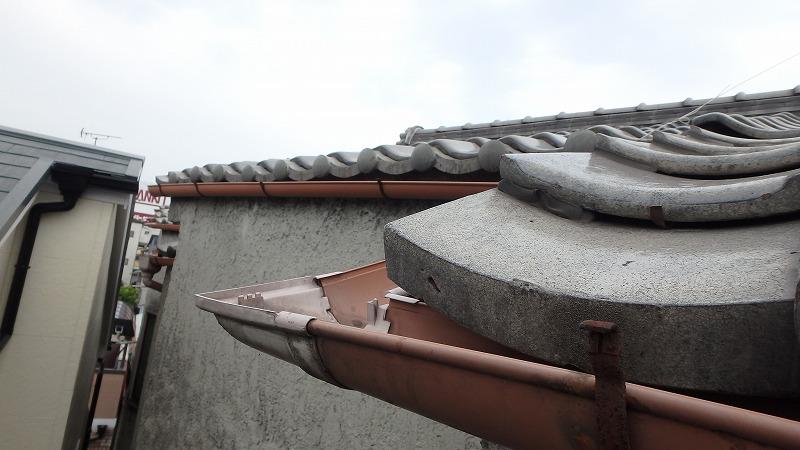 雨樋のコーナー