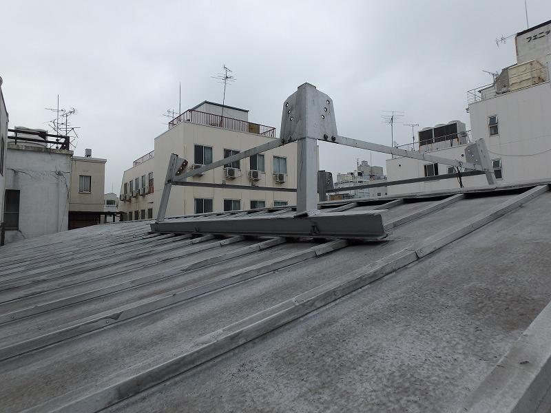 瓦棒屋根 現状