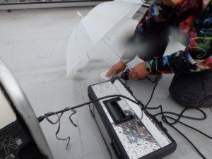 屋上防水 劣化部修理