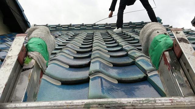 屋根の点検調査