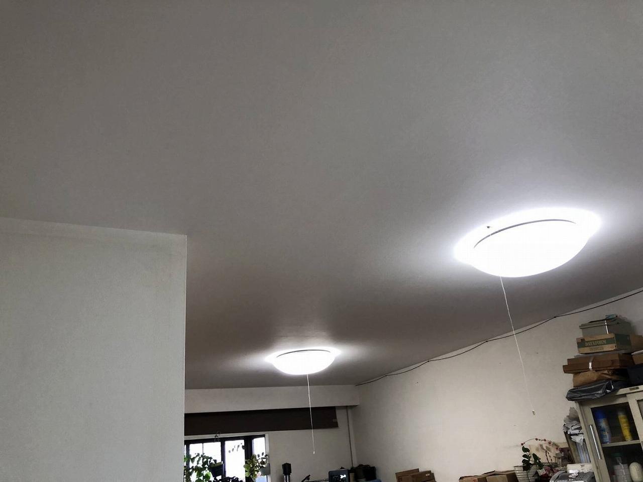室内天井補修後