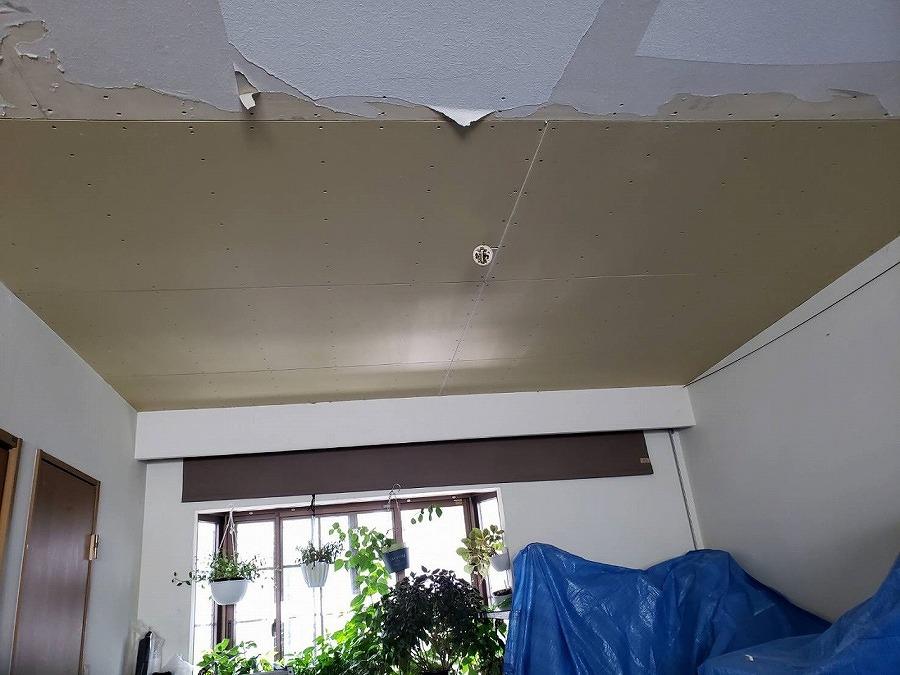 室内天井ボード補修