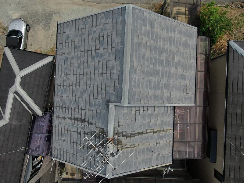 ドローンで屋根の点検