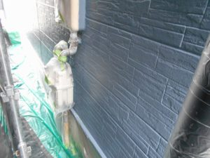 1、2階の外壁塗装完成