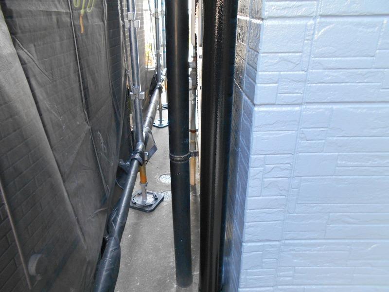 雨樋塗装の完成