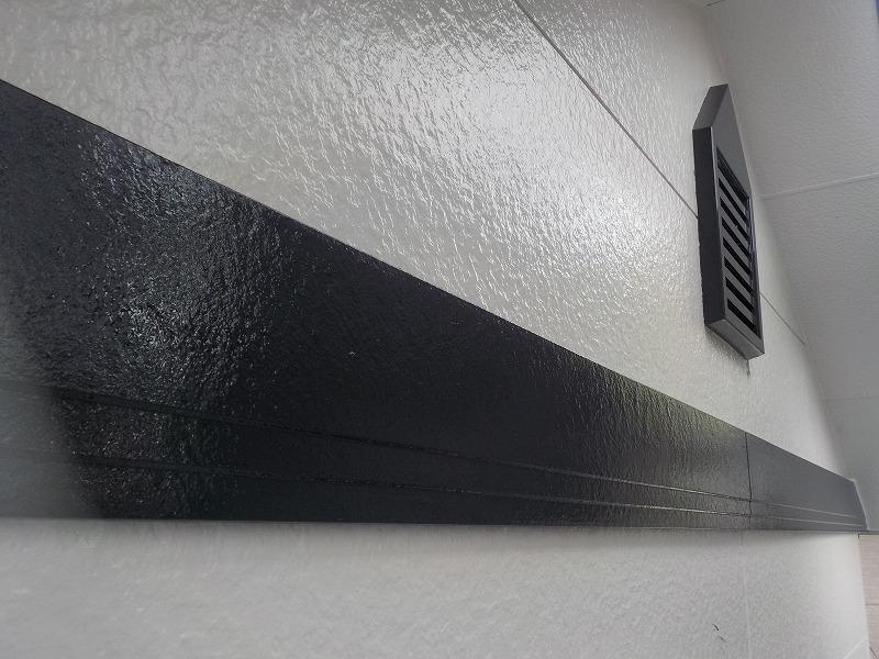 幕板塗装の完成