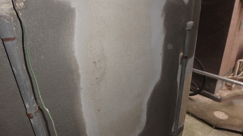 外壁左官補修施工後