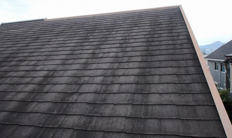 屋根塗装前のドローンによる屋根の調査