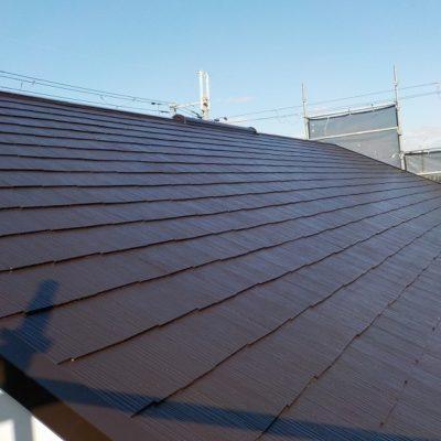 羽曳野市の住宅の屋根塗装後