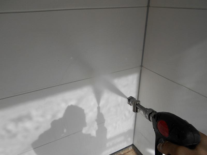 塗り替え前の高圧洗浄工事