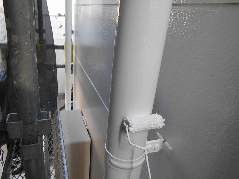雨樋の塗り替え