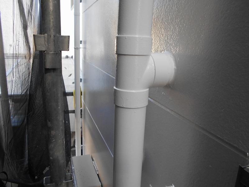 雨樋の塗り替え完成