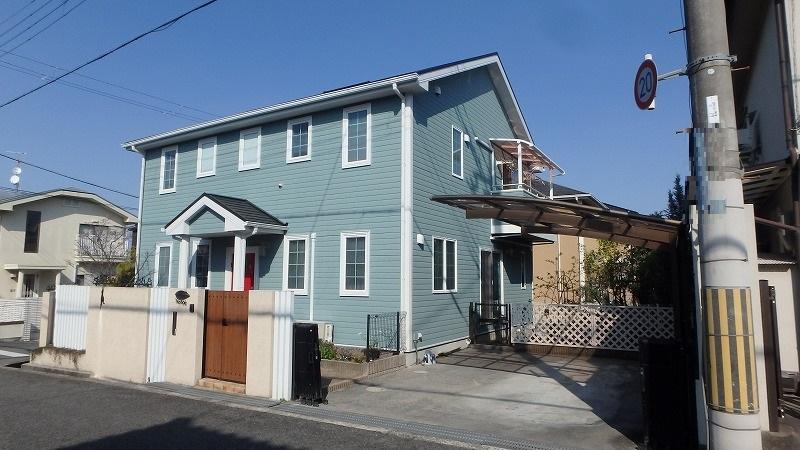 外壁屋根塗装後のお住まい全体像