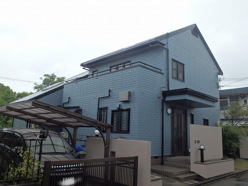 外壁塗装後のお住まい全体の様子