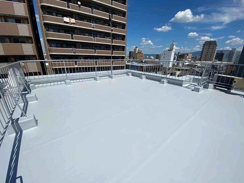 屋上防水工事の完成全体像