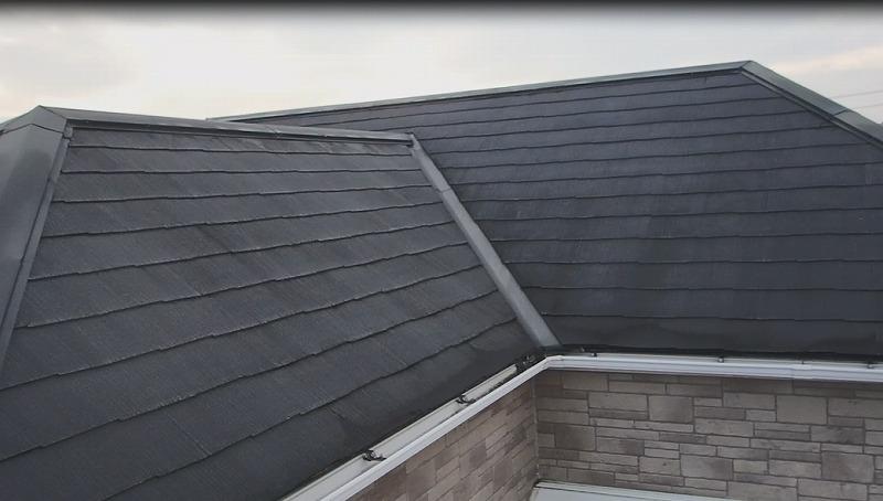 屋根塗装前の屋根