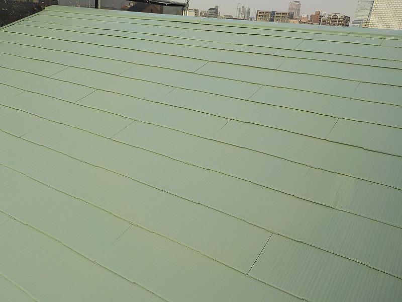塗り替え後の屋根全体