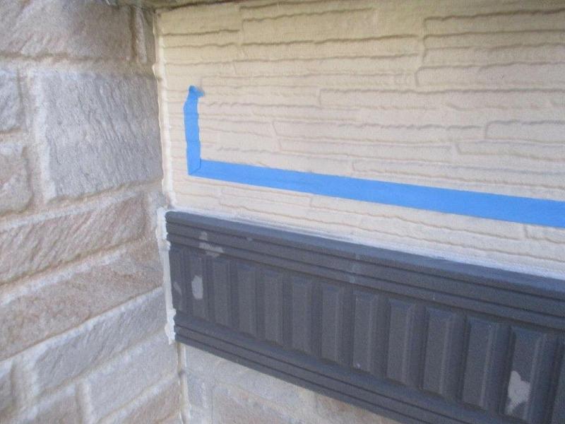 外壁のコーキングのひび割れ