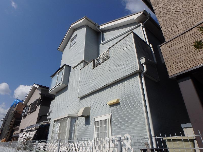 塗り替え工事前のお住まい反対側