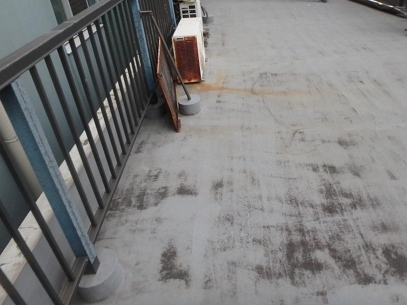 塩ビシート防水工事施工前