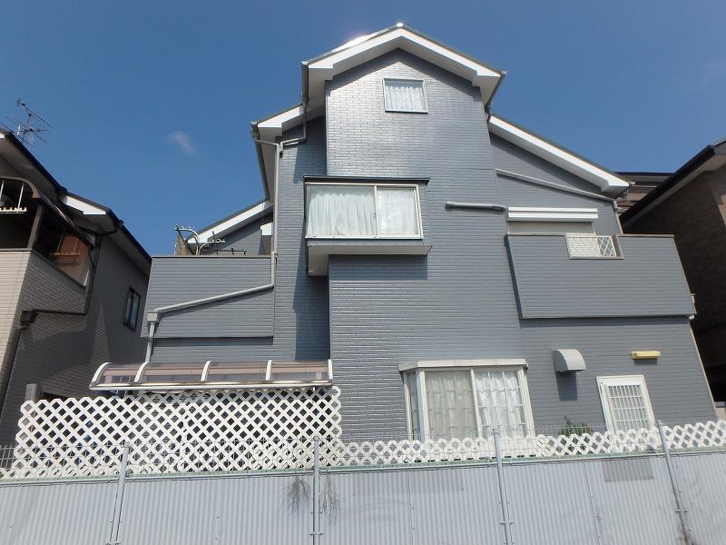塗り替え後のお住まい反対側
