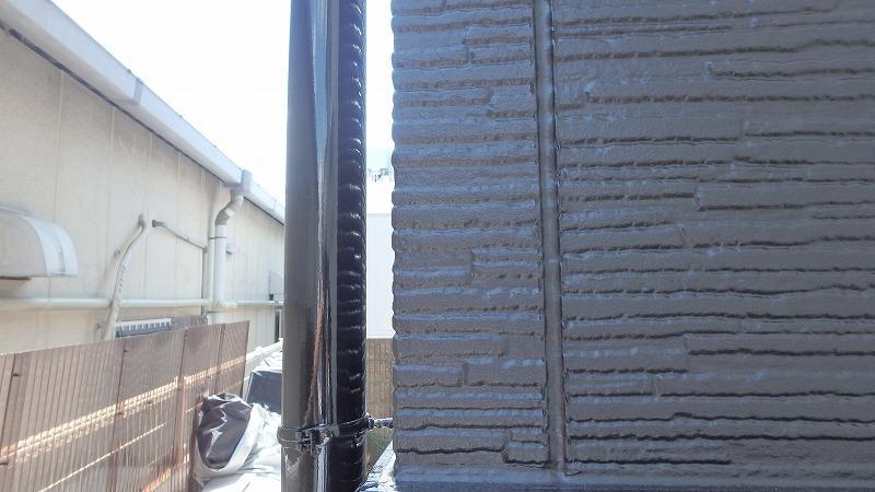 コーキング打ち替え後の外壁