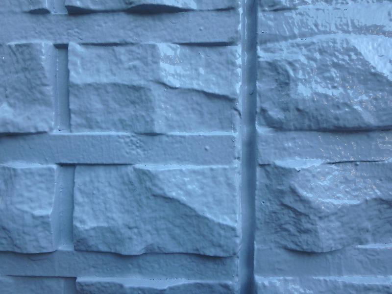 外壁塗装後のダイコンクリート