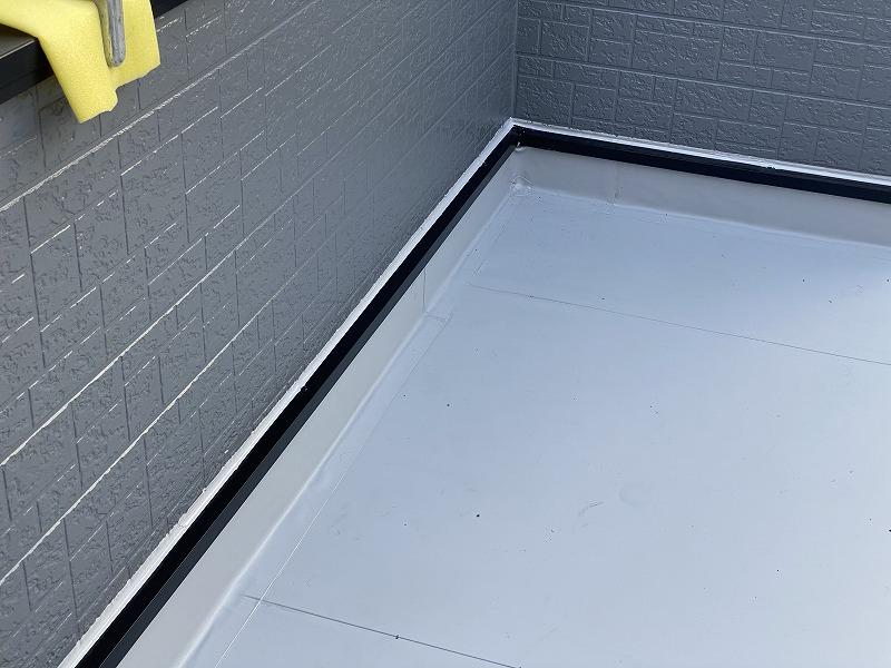 屋上防水工事完工