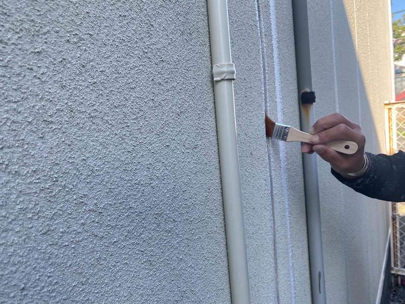 外壁Vカット補修