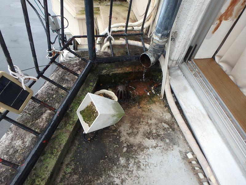 排水ドレンの劣化