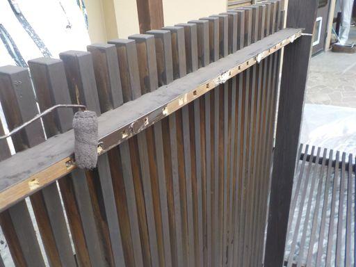 フェンス塗装