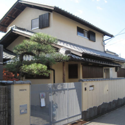 松原市柴垣の住宅塗装