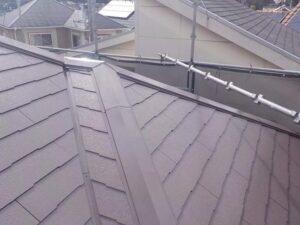 遮熱塗料での屋根塗装完成