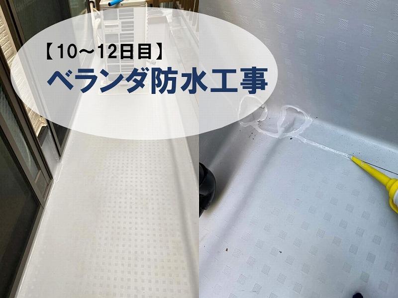 【壁塗り替え10-12日目】付帯塗装