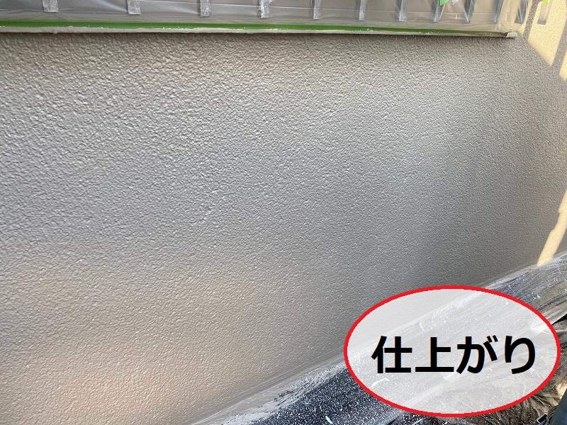 松原市外壁防水工事仕上げ