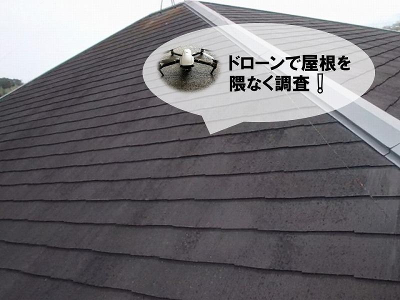 屋根塗り替え前の無料点検