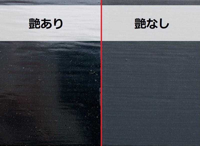 艶あり塗料と艶なし塗料の違い