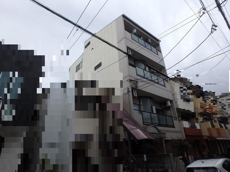 八尾市ALC賃貸マンション外壁塗装施工前
