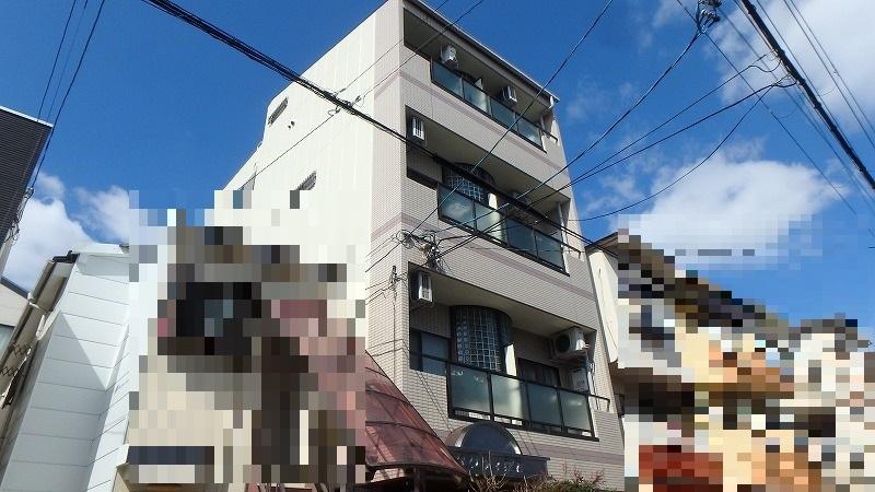 八尾市ALC賃貸マンション外壁塗装施工後
