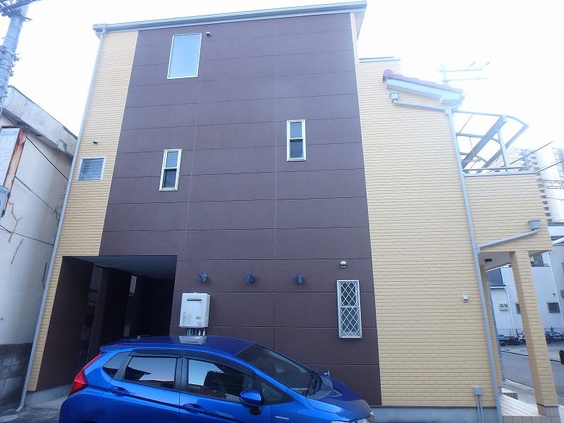 堺市ALC外壁塗装工事完成