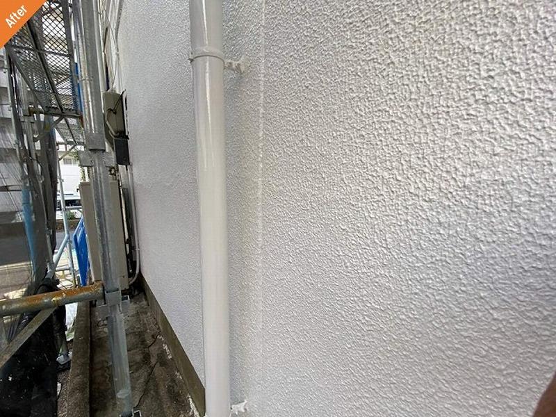 外壁塗装後の1階
