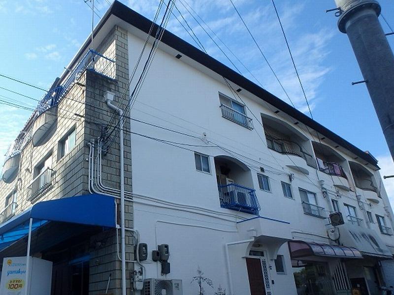 堺市のひび割れ補修後のお住まい