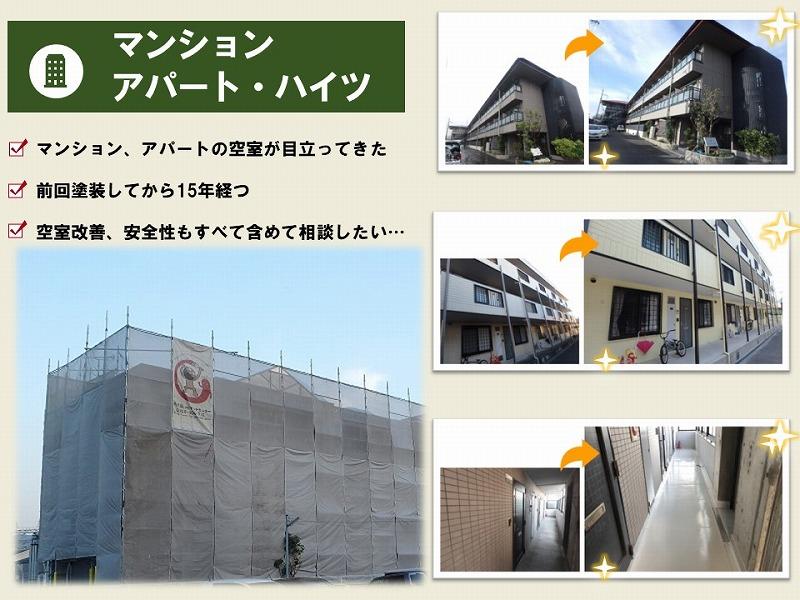 マンション・アパート・ハイツ